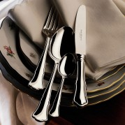 Alt-Chippendale Silver Plate Flatware