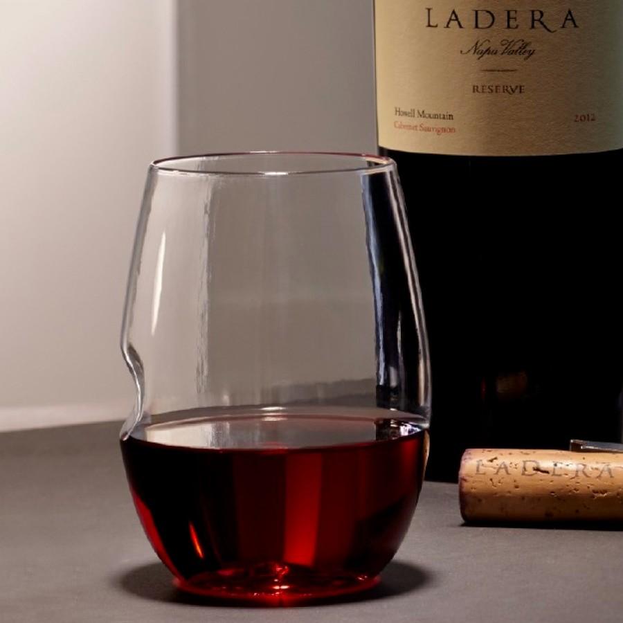 Set 4 stemless wine glasses 11cm 475ml william ashley china - Stemless wine goblets ...