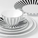 5 Piece Place Setting - Striped