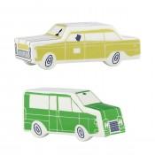 Cars Salt & Pepper Shakers