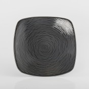 BoB Swirl - Square Appetizer Plate, 16.5cm