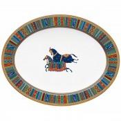 Large Oval Platter, 48x37cm