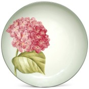 Floral Hydrangea Accent Plate