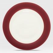 Wide Rim Dinner Plate