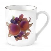 Mug - Peach & Blackberry Motif