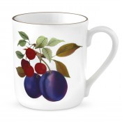 Mug - Plum & Cherry Motif