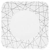 Square Dinner Plate, 27cm