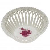 Green Round Basket - Apponyi