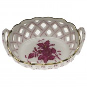 Green Oval Basket - Apponyi