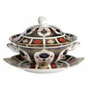 Soup Tureen Stand/Round Platter
