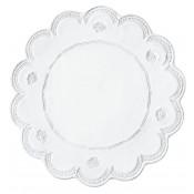 Service Plate, 33.5cm - Lace