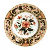 Accent Plate, 21.5cm - Derby Pink Camellias