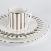 4 Piece Place Setting - Striped