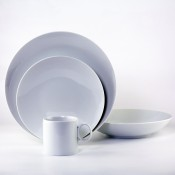 4 Piece Place Setting - Coupe Soup Bowl