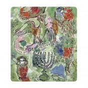 Asher Tribe Matzah Plate, 27x23cm
