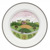 Dessert/Salad Plate #6 - Hunter & Dog, 21cm