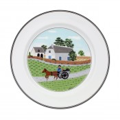Dinner Plate #1 - Going to Market, 27cm