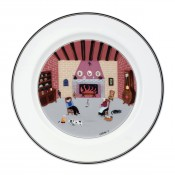 Dinner Plate #5 - By the Fireside, 27cm