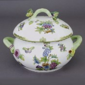 Soup Tureen - Butterfly Knob