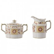 Creamer & Covered Sugar Bowl
