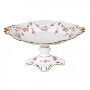 Tall Oval Compote Bowl