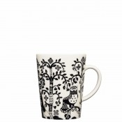 Mug, 11cm, 400ml - Black