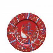 Dessert/Salad Plate, 22cm - Red