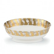 Oval Serving Bowl, 24 cm