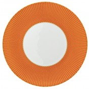 Orange Dinner Plate