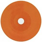 Presentation Plate.Orange