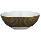 Small Brown Salad Bowl