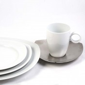 5 Piece Place Setting - Triangular, Stainless Steel