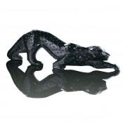 Zeila Panther Sculpture, Black