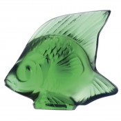 Fish Sculpture, Emerald