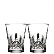 Set/2 Double Old Fashioned Glasses, 12cm, 355ml - Clear