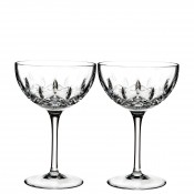 Set/2 Coupe/Dessert Champagne/Cocktail Glasses, 17cm, 295ml - Clear