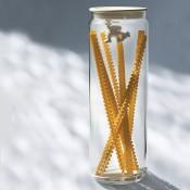 Gianni Spaghetti Jar, White