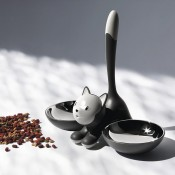 Tigrito Cat Bowl - Black