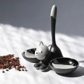 Tigrito Cat Bowl - Black