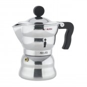 Moka Alessi Espresso Coffee Maker, 3 cups