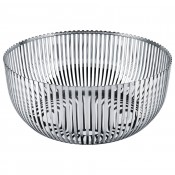 Stainless Steel Fruit Bowl/Basket, 30 cm