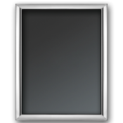 "Plain - Silver Plate Photo/Picture Frame, 10x15cm (4""x6"") - G14"