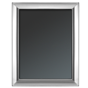 "Plain - Silver Plate Photo/Picture Frame, 20x25cm (8""x10"") - G22"