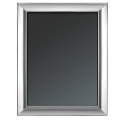 "Plain - Sterling Silver Photo/Picture Frame, 13x18cm (5""x7"") - G22"