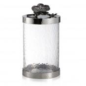Medium Glass Canister, 25.5cm