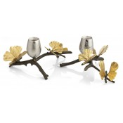 Set/2 Low Candleholders, 9.5cm