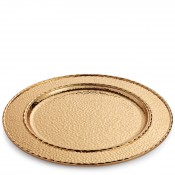 Charger/Service Plate/Round Platter, 32.5cm - Gold