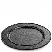Charger/Service Plate/Round Platter, 32.5cm - Black