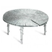 Coffee Table, 38.5cm - Silver Finish