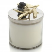 Olive Branch Gold Scented Candle, 12cm, 400ml